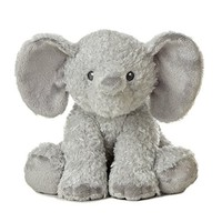 Ikea Leddjur Adorable Elephant Soft Plush Toys, Large Stuffed Animals, Mommy & Baby, Set of 2