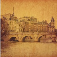"""16""""x16"""" Vintage City Prints on Wood. Multiple Cities Available. Free Returns."""