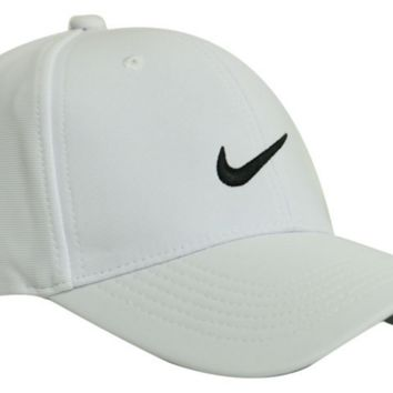 Nike Fashion Casual Women Men Cool Unisex Baseball Cap Hat White  G