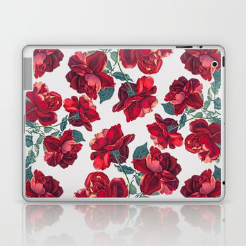 Roses  Pattern Laptop & iPad Skin by MIKART