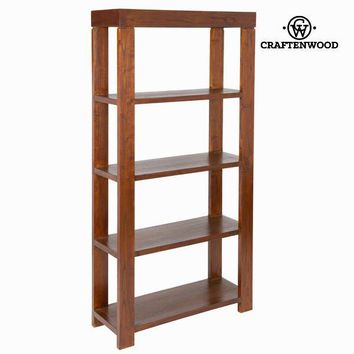 Nature walnut bookshelf  - Nogal Collection by Craften Wood