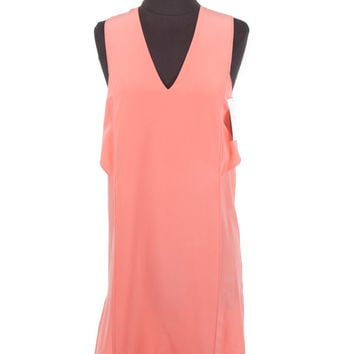 Alexander Wang Tangerine Silk Dress