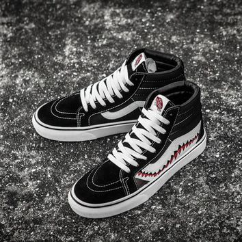 VANS SK8-HI x BAPE SHARK Running Shoes 36-44 302d5a700