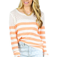 Creamsicle Sweater