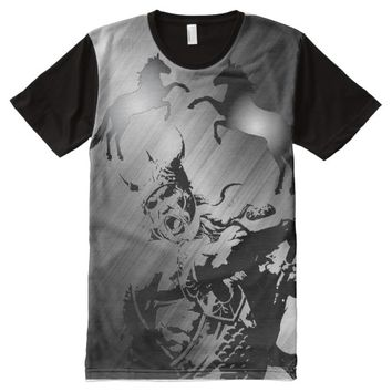 OLD VIKING WARRIOR All-Over-Print T-Shirt