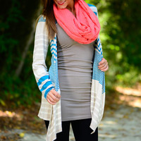 Loved By You Cardigan, Teal