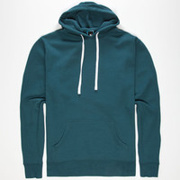 Standard Supply Slim Fit Mens Pullover Hoodie Emerald  In Sizes