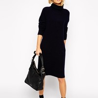 Whistles Slouchy Knit Dress at asos.com