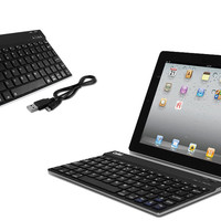 Universal Bluetooth Keyboard for iPad and Tablets