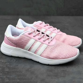 ADIDAS Sport Running Trending  Fashion Casual Sneakers Shoes Pink G-XYXY-FTQ