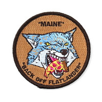 Back Off Flatlander Patch