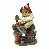 Park Avenue Collection Gustav The Gardening Gnome Statue
