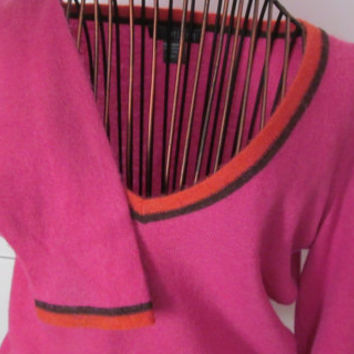 Pink 100% Cashmere Sweater Sz S Womens Cashmere Sweater Petite Clothing Juniors Clothing