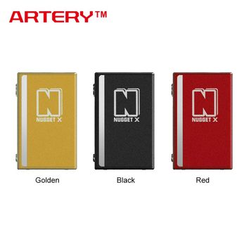 100% Original Artery Nugget X 50W TC Box MOD with built-in 2000mAh battery 0.96-inch OLED screen for Nugget X Kit E-cig Vape MOD