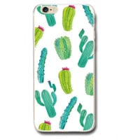 The New Fresh Cactus Protective Case For Iphone 6 6s plus