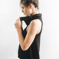High Society Tank - Black Rib – Joah Brown
