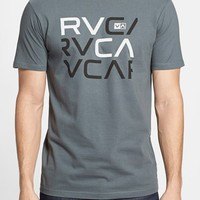 Men's RVCA 'Stacked' Graphic T-Shirt