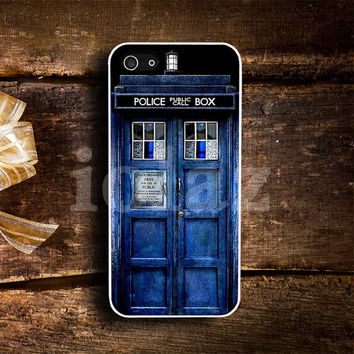 Police box public call doctor who Design mobile Phone case