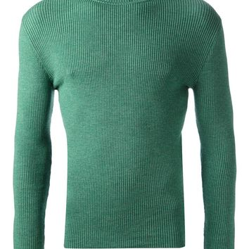 Walter Van Beirendonck Ribbed Roll Neck Sweater