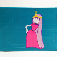 Princess Bubblegum Adventure Time Duct Tape Wallet