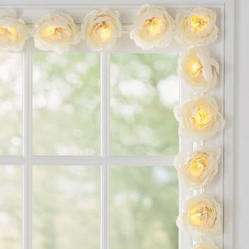 Oversized Flower String Lights