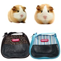 Portable Outdoor Hamster Rat Hedgehog Chinchilla Ferret Carrier Packet Bag Small Pets Sleeping Hanging Bag Pet Supplies & ST87