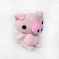 Pig Plush Stuffed Animal Plushie Toy