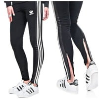Adidas Originals Fashion Print Exercise Fitness Gym Yoga Running Leggings Sweatpants-1