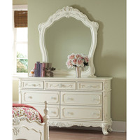 Cinderella Collection Dresser and Mirror set