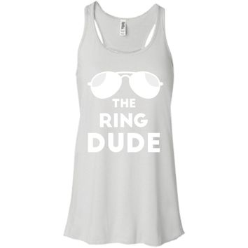 the ring dude-01  B8800 Bella + Canvas Flowy Racerback Tank