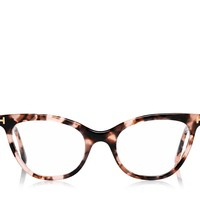 Cat-Eye Temple Optical Frame