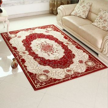 Red Carpet Classical Rugs and Carpets For Home Living Room Area Rug