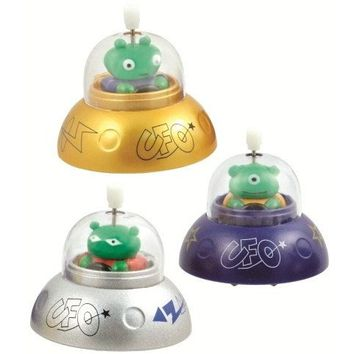 Ufo No-fall Wind Up Toy