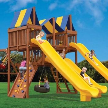 Playground One Turbo Deluxe Playcenter Slide City