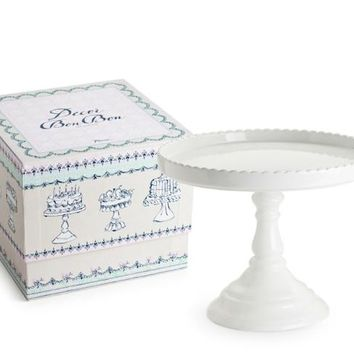 Decor Bon Bon Tall Pedestal Cake Stand White in Gift Box 51133