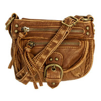 Mini Zip Crossbody Bag | Shop Just Arrived at Wet Seal
