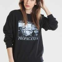 BAD WEATHER PULLOVER HOOD SWEATSHIRT