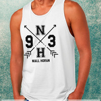 One Direction Niall Horan 1D Clothing Tank Top For Mens