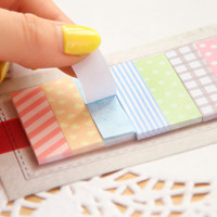 Korean 160 Pages Sticker Memo Pads Colorful Lovely Mini Memo Flags Sticky Notes Girls Gift School Stationery Supplies