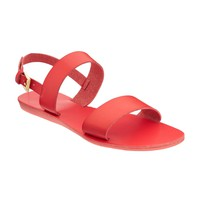 Faux-Leather Double-Strap Sandals for Women | Old Navy