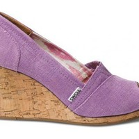 Orchid Hemp Women's Sustainable Wedges | TOMS.com