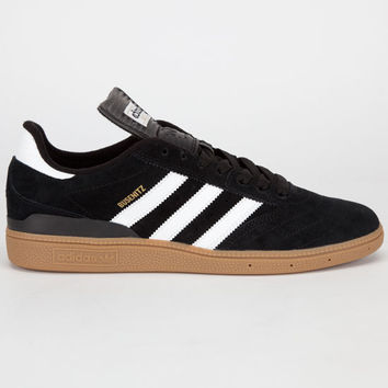 Adidas Busenitz Mens Shoes Black/Running White/Metallic Gold  In Sizes