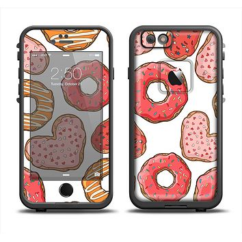The Vectored Love Treats Apple iPhone 6 LifeProof Fre Case Skin Set