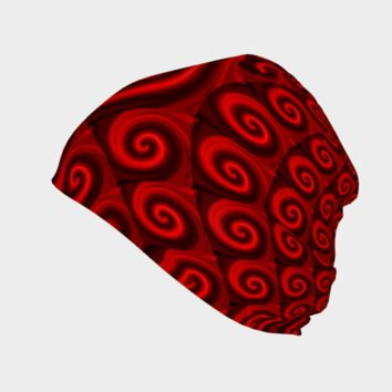 Red Christmas Decoration #4 Beanie