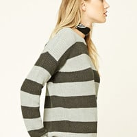 Contemporary Striped Sweater