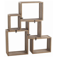 Arteriors Home Stockard Oak Modular Shelves - Arteriors Home 5353