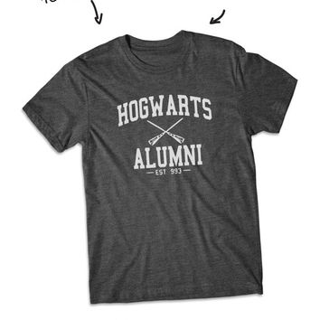 Hogwarts Alumni Harry Potter shirt short Sleeve tshirt