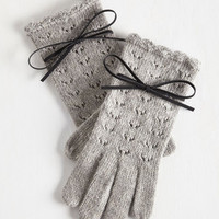 Foggy Mornings Gloves in Mist by ModCloth
