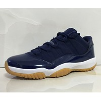 "AIR JORDAN 11 LOW ""NAVY"""