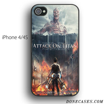attack of titans case for iPhone 4[S]